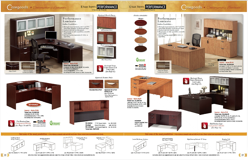 Workstations jacksonville office furniture budget office interiors for Catalogue staff decor pdf